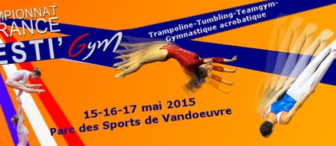 Horaires de passage Championnat de France Tumbling le 17 mai à Vandoeuvre-lès-Nancy