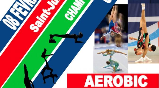 Horaires du Championnat Régional d'Aérobic, Trampoline, Gymnastique Acrobatique, Tumbling à Saint Julien le dimanche 8 février